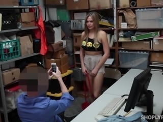 sassy police officer banged me in the storeroom