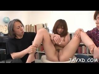 Superlatively good oriental porn