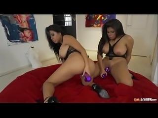 [CumLouder] Kesha Ortega, Sheila Ortega (Pure Opulence from Venezuela -...