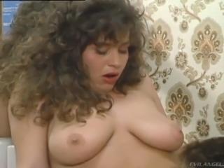 Randy retro slut licking pussy, sucking cock and fucking