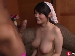 Busty Japanese Teen Rie Tachikawa Gets Fucked