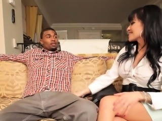 Shemale whore sucks dick and invites it in her booty