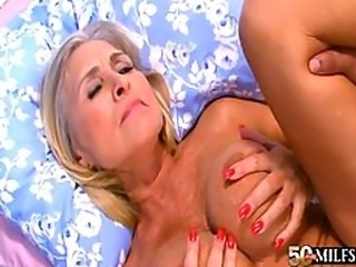 Mature Slut Gets Anal Fucked By Big Black Cock - Interracial Porn Vid