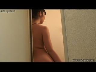 Japanese Shower Voyeur