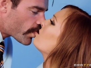 Dani Jensen parted her mouth slightly, as my lips met hers and we kissed...