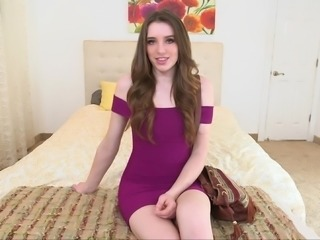 Gorgeous pale teen