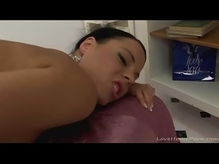 Amazing babe loses control in her bedroom more PornWebCamZ.com