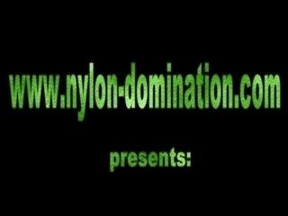 Nylon Girls Spanking