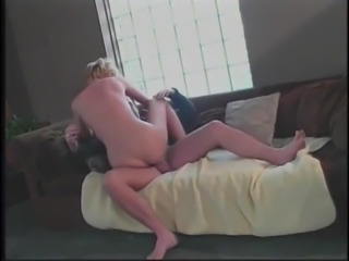 Hot blonde fucked in her sexy ass