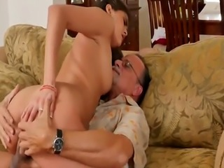 Old granny casting couch and guy big tits first time chill out with a