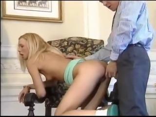 DP for blonde slut