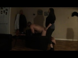 BBW Dom Wife Uses His Bitch Ass