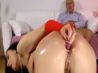 Busty british mature assfucked and sucks dick