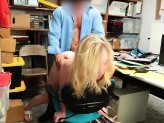 Zoe Parker got her pussy railed so hard by the LP Officer