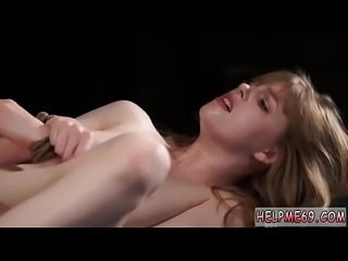 Punish pussy creampie and bondage audition first time Back at Bruno&#039_s