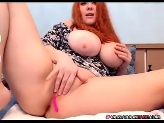 Huge tits cam whore pussy cummed creampie -  camtocambabe.com
