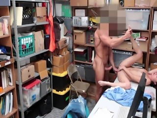 Carolina Sweets pussy was all fucked up by the LP Officer