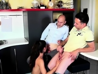 Father caught fucking sons girlfriend