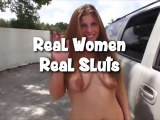 Hotwife Fucks Strangers Outside