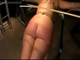 Sub ass caned more PornWebCamZ.com
