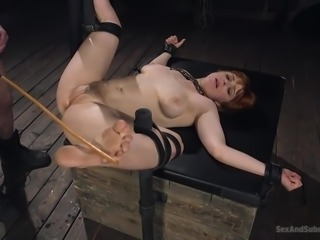 It's not her BDSM fantasy, it's definitely her reality and soon, redhead...