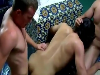 Lady gay sex video first time Jacob howls with pain and gusto before