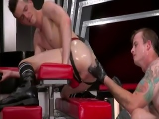Free gay porn leather Tatted beauty Bruce Bang spots Axel Abysse