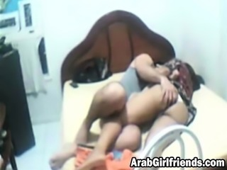 Hot and sexy Arab bitch gets her pussy fucked hard