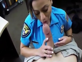 Lingerie clad blowjob first time Fucking Ms Police Officer