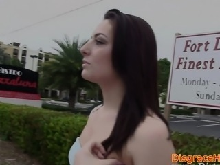 Cocksucking amateur humiliated and fucked
