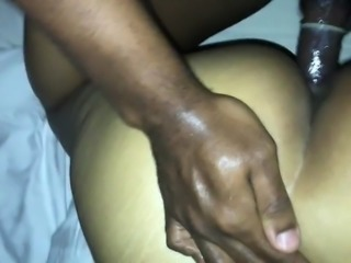 She cums multiple times on my dick