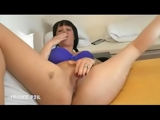 Margaux, french girl fuck with Brother