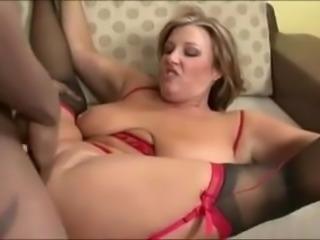 White wife takes black cock