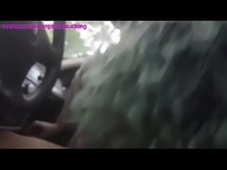 Fat hooker sucks off in the whip