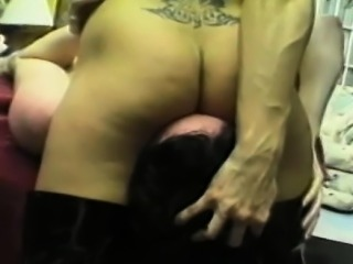 Excited woman enjoys complete femdom with humiliation