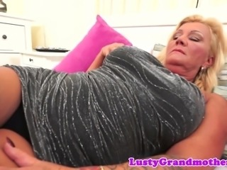 Bigtits granny sucks cock and gets fucked