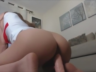 Hot Asian Nurse Plays With Dildo
