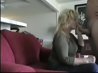 Older neighbor came over to give blowjob hidden cam