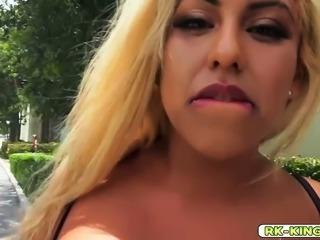 Latinas unbelievable dick riding and sucking skills