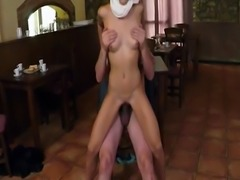 Arab masturbate amateur first time Hungry Woman Gets Food and Fuck