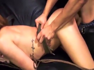 Getting brutally fucked Angry boycompanions have no problem kicking th