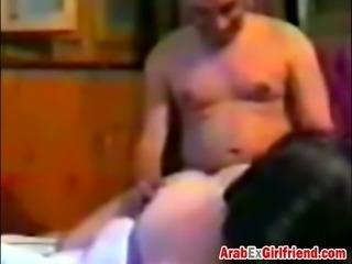 Arabic ex girlfriend got fucked hard from behind