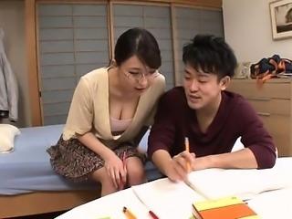 Busty hot milf Rei Himekawa in hardcore