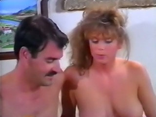 Beautiful blondie with shaved pussy feeding on a dick