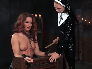 Big ass honey Savannah Fox is at the mercy of this wickedly naughty nun