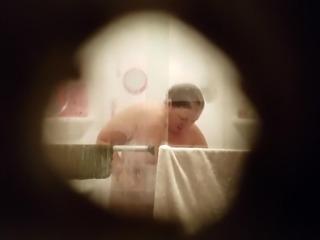 Christine Krug washing her fat body again.mp4