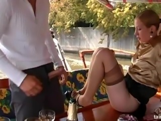 Tatiana loving big cock hardcore missionary in foursome