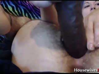 This blue haired webcam whore fucks her pierced wet pussy with her dildos