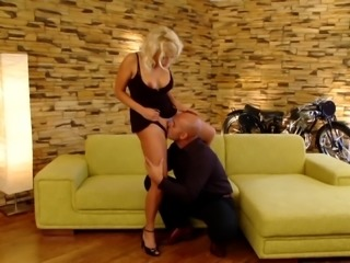 Steamy pussy licking and shagging with ravishing Kathy Sweet
