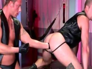 Fist gay twink male Brian Bonds heads to Dr. Strangeglove's office